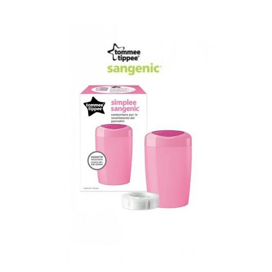 Хигиенен Кош за Памперси Simplee - Розов Tommee Tippee TT -87008801