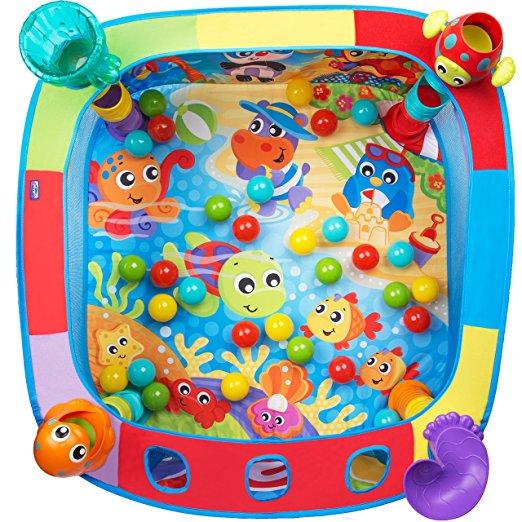 Playgro Активна гимнастика басейн с 30 топки 6м+