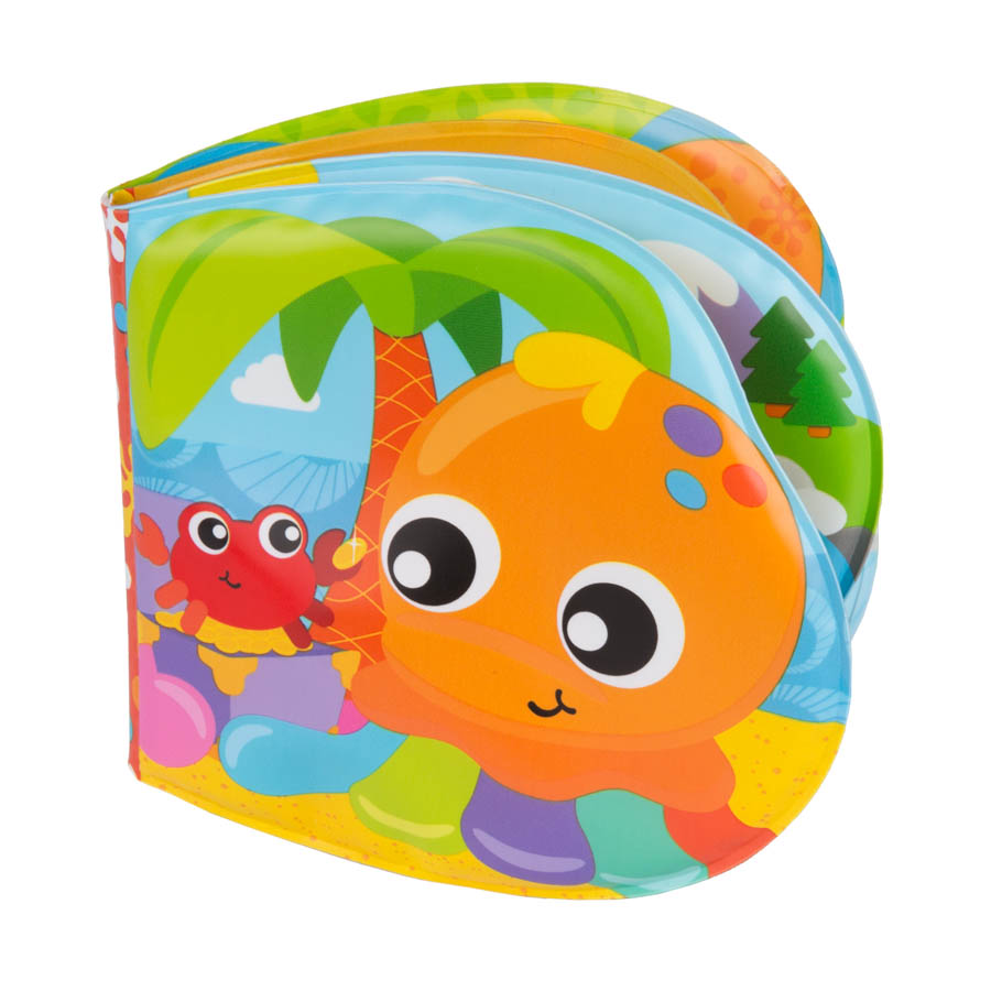 Playgro Книжка за баня Забавни приятели 6м+