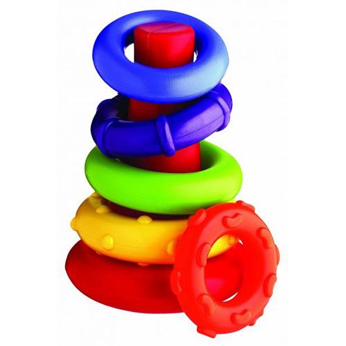 Playgro Конус с цветни рингове 9м+