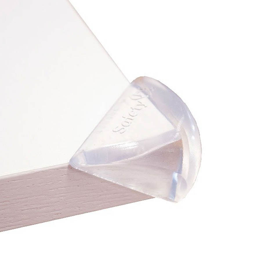 Safety 1st Меки прозрачни протектори за ъгли и ръбове - 4 бр.