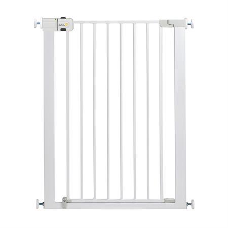 Safety 1st Универсална метална висока преграда за врата бял цвят